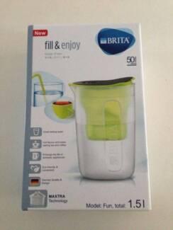 [BRAND NEW] BRITA jug fill&enjoy Fun Lime 1.5l incl. 1 MAXTRA+