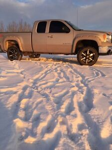 2008 GMC Sierra 1500 lifted (partial trade)