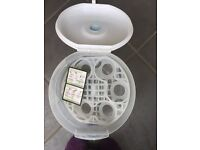 Tommy Tippee bottle microwave system