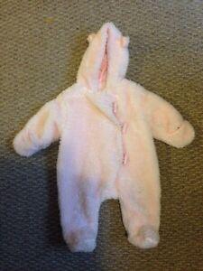 Joe Fresh baby girl bunting suit