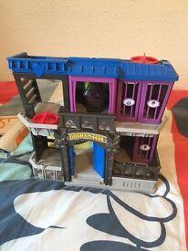 Batman Gotham city jail