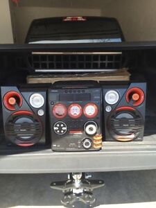 5 cd stereo system