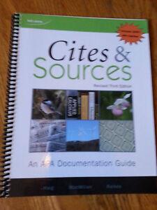 Cites & Sources