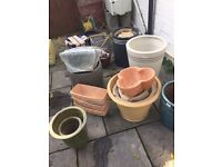Many Plant Pots!