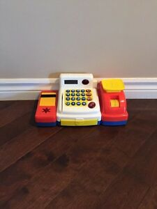 Fisher Price cash register.