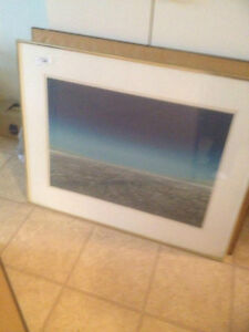 very large framed print in great condtion London Ontario image 1