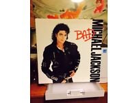 "Michael Jackson - Bad - Vinyl 12"" LP Record"