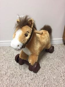 Rockin' Rider 2-in-1 Rocker & Roll Along Pony - Charger Horse