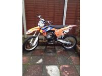 Clean 2013 ktm sx 125 *LOOK* Loads of work done. Px for yz 125 not cr kx rm