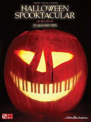 Halloween Spooktacular Sheet Music 37 Gravest Hits Piano Vocal Guitar  002501709 - Piano Sheet Music Halloween