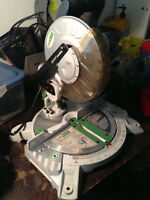 "*NEW* Haussmann - Rona 8 1/4"" compound mitre saw"