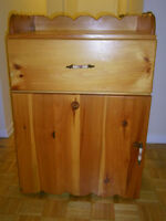 Hand Made Sewing Machine Cabinet