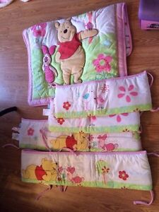 Winnie the Pooh comfort set with bumper pads St. John's Newfoundland image 1