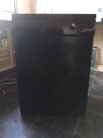 Black Dishwasher. Full Working Order