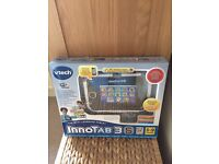 Vtech Innotab 3s Boxed , instructions , Hardly used - 2 games included Excellent Condition