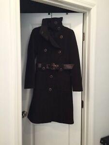 MACKAGE Wool & Leather Winter Coat!