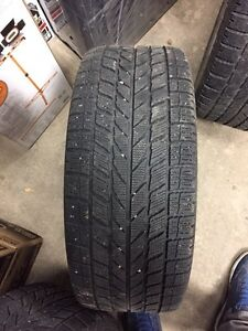 Winter tires with rims  205/55/16 from Audi A4  London Ontario image 5