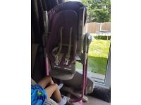High chair - 3 in 1.
