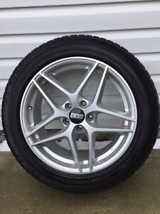 BMW X5 WINTER RIMS AND RUN FLAT TIRES