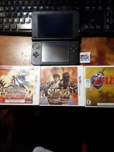 GOING CHEAP!!!!! Nintendo 3ds XL black. 4 games. GREAT condition