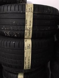255/40/19 100Y XL PIRELLI PZERO ROSSO PAIR OF 2 tyres