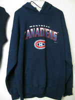 MONTREAL CANADIENS SWEATER HOODY AND VEST
