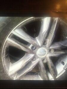 Winter tires, rims, sensors