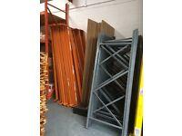 warehouse racking- heavy dusty