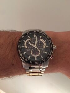 CITIZEN ECO-DRIVER MEN'S WATCH CHRONO ALL S/S AT Watch AT4008-51