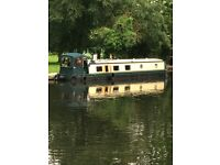 Widebeam 57x10ft barge london