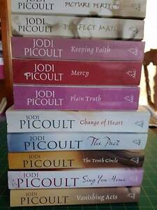 10 Jodi Picoult Books Wynn Vale Tea Tree Gully Area Preview