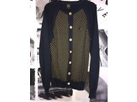 Men's 883 Police Brand Size Medium Cardigan