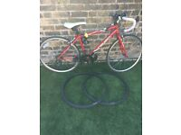 Children's Racer Bike with 2 spare tyres