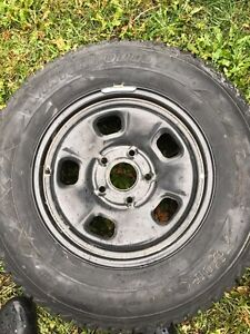 P245/70R17 Winter Tires in Great Condition !!!! Gatineau Ottawa / Gatineau Area image 1