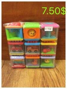 9 pour 7.50$ Fisher-Price Peek-a-Blocks