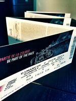 2 billets / tickets Formule 1 Grand Prix 5-6-7 juin /June 2015