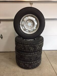 Lt 265/70/17 on ford f-150 rims