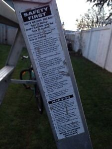 Scaffold ladder REDUCED Now $125.00 Strathcona County Edmonton Area image 2