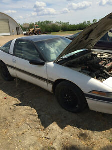 Plymouth turbo Laser        complete Parts car