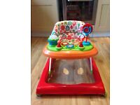 Redkite Baby Go Round Twirl Brights Baby Walker. RRP £29.99 (Argos for reference)