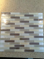 8 Boxes of Premium Glass Mosaic Tiles For Sale!!!
