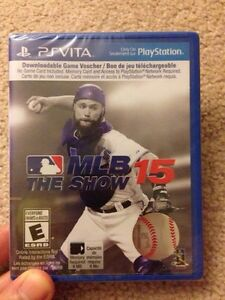 PS Vita MLB The Show 15 - $20 brand new in plastic