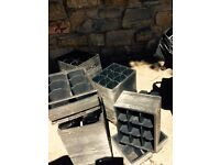 Garden pots 1000,,s most are new and a sack full as well
