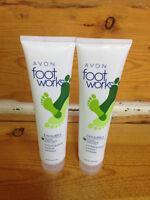 Avon Foot Works Mint & Aloe Exfoliating Scrub