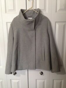 Plus size coat & tops
