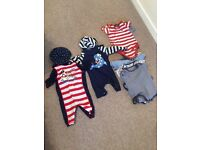 Boys bundle swim suits and vests 9 - 12 months