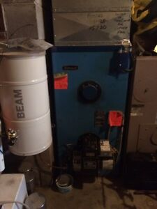 Metro heat oil furnace