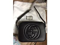 Soho leather party bag by gucci