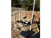 Multi gym york bench brand new