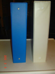 """SEVERAL 2 """" THREE-RING BINDERS OF VARIOUS STYLES & COLOURS"""